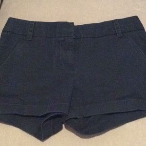 Navy blue J.Crew shorts